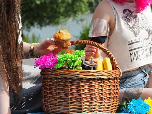 Repas de rue à Saint-Puy