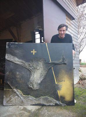 Atelier d'artiste scultpure Michel Campistron