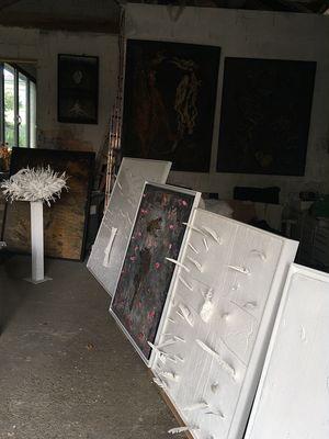 Atelier d'artiste à Mouchan