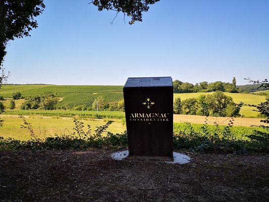 Armagnac Confidentiel vignobles viticoles dans le Gers