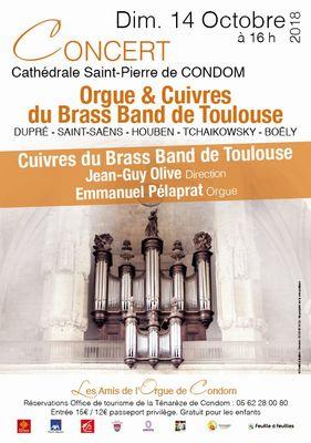 Concert d'orgue à Condom