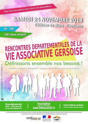 Rencontre associative AU CHÂTEAU DE MONS