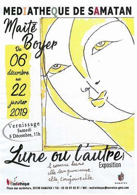 Exposition : Maïté Boyer