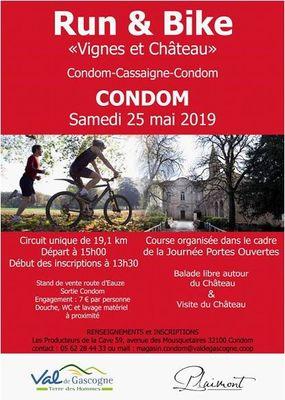 Run and bike