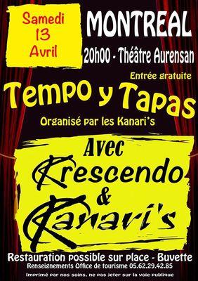 TEMPO Y TAPAS