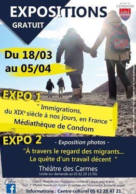 Exposition Les migrants