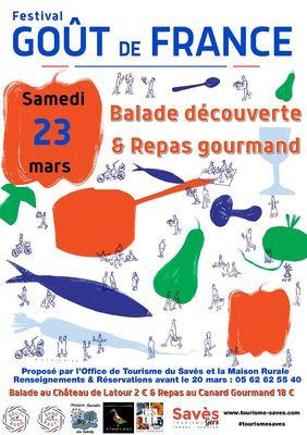 Affiche Gout de France