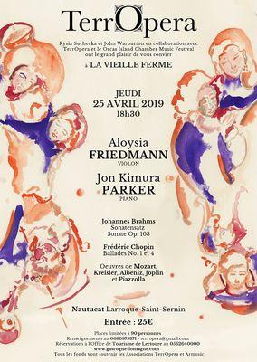 Concert TerrOpera à Larroque-Saint-Sernin