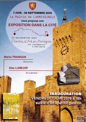 Exposition dans la cité fortifiée