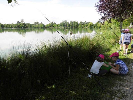 Pêche lac de Samatan