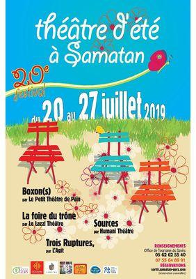 festival théâtre d'été