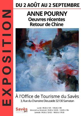 Affiche expo Août 2019