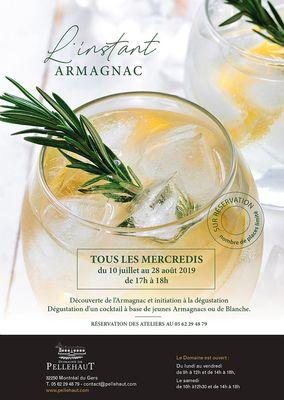 L'instant Armagnac au Domaine du Pellehaut