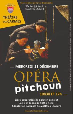 Opéra Pitchoun au Théâtre des Carmes