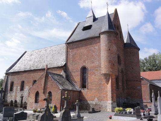 Eglise fortifiée Malzy< Thierache< Aisne< Picardie