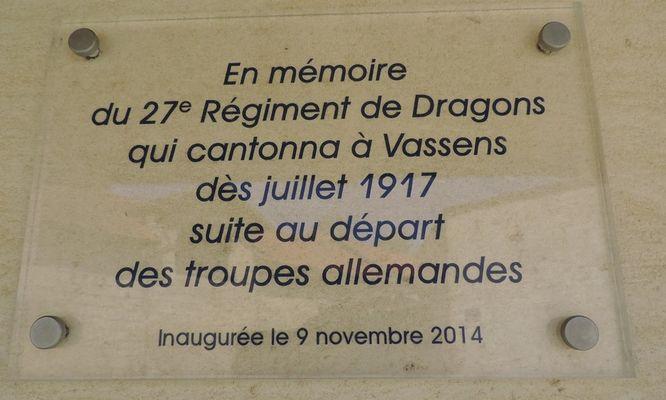Monument 27e regiment des dragons - Vingre © OT Villers-Cotterets (3)
