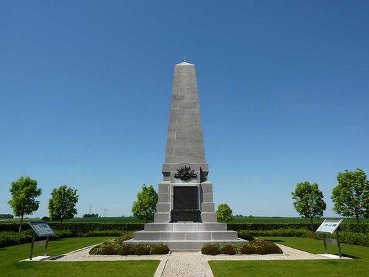 Monument australien de Bellenglise < Guerre 14-18 < WWI < Aisne < Picardie < France