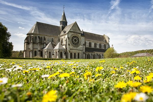 Site abbatial de Saint Michel en Thiérache