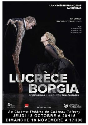 Affiche Lucrece Borgia