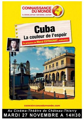 Affichette Cuba