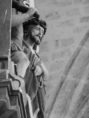 Aisne, BRISSAY-CHOIGNY. Eglise Saint-Quentin, Chemin de croix. Photo Emilie MARTIAL bis