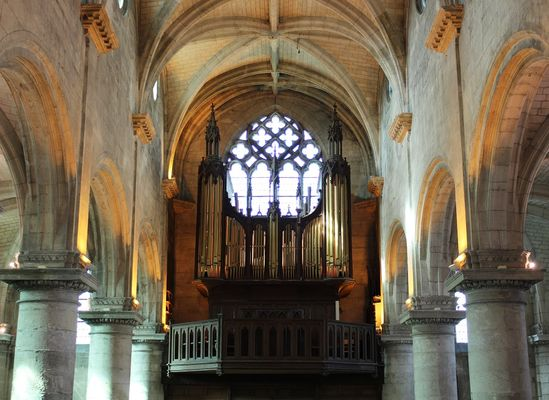 Aisne, RIBEMONT.  Orgues, église Saint-Pierre-Saint-Paul. Joël FOULON bis