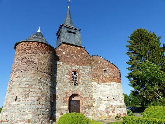 Eglise fortifiée < Bancigny < Aisne < Picardie