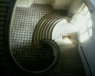 Bibliothèque municipale Suzanne-Martinet_escalier < Laon < Aisne < Picardie