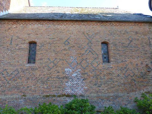 Eglise fortifiée < Cuiry-les-Iviers < Aisne < Picardie