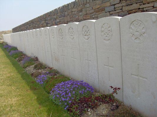 Cimetière britannique < Guerre 14-18 < WWI < Montbrehain < Aisne < Picardie < France