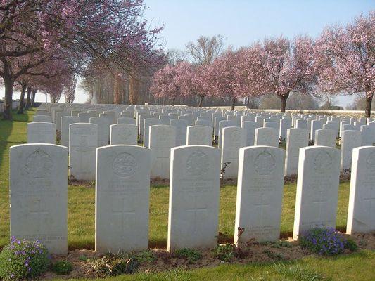 Cimetière britannique de Savy < Guerre 14-18 < WWI < Savy < Aisne < Picardie < France