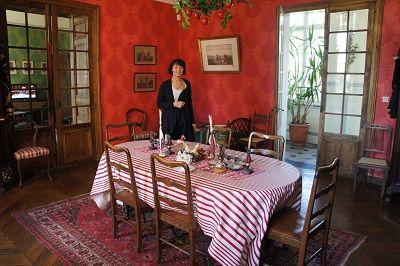 Chambres d'hôtes les Jardins du Château séjour < Puisieux et Clanlieu < Aisne < Picardie