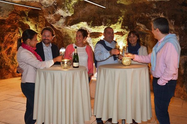 Champagne Pannier à Château Thierry
