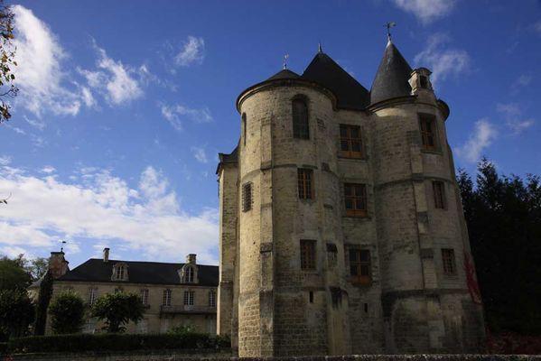 Château de Vic-sur-Aisne < Guerre 14-18 < WWI < Aisne < Picardie < France
