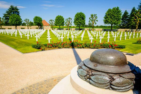 Cimetière Américain de la Somme à Bony