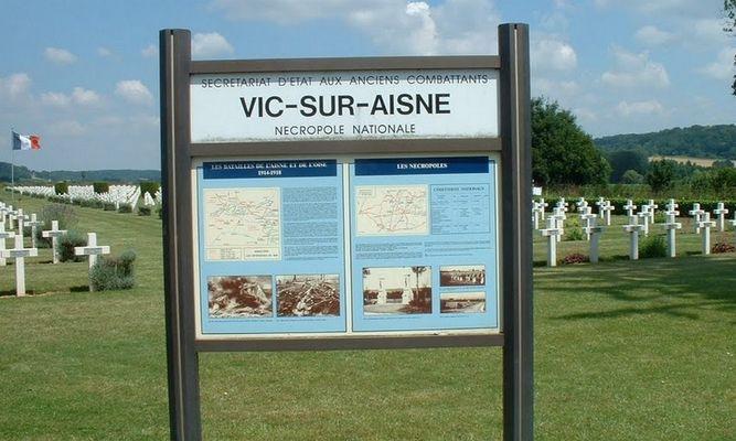 Cimetière militaire Vic-sur-Aisne © OT Villers-Cotterets (6)