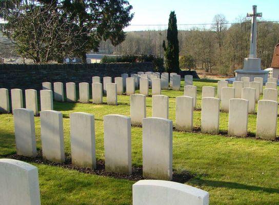 Cimetière britannique de Montcornet < Guerre 14-18 < WWI < Aisne < Picardie < France