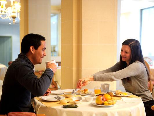 Petit déjeuner au Grand Hôtel