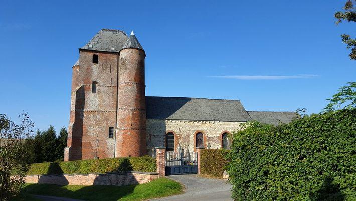 Eglise fortifiée de Prisces < Thiérache < Aisne < Picardie