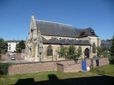 Eglise Saint Montain < La Fère < Aisne < Picardie