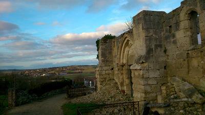 Eglise ruines III < Maizy < Aisne < Picardie