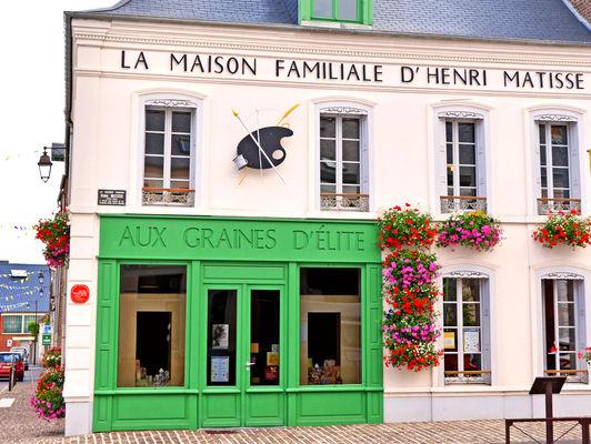 Façade la Maison familiale d'Henri Matisse © Maison familiale d'Henri Matisse