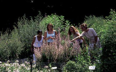 Jardin de Vauclair_touristes < Bouconville-Vauclair < Aisne < Picardie