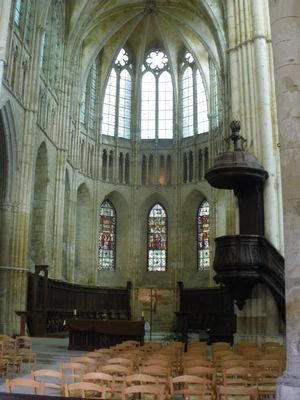 L'abbatiale Saint-Férréol
