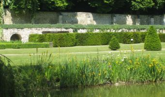 Le Jardin du Prieuré de Longpré_vue_1 < Haramont < Aisne < Picardie