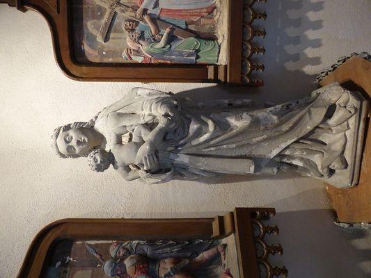 Vierge à l'Enfant, chapelle Saint-Germain. Ribemont
