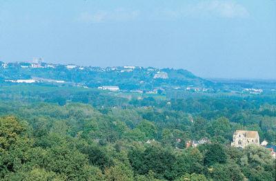 Panorama sur la cuvette de Mons-en-Laonnois