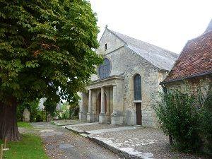 Parvis de Sainte-Clotilde < Vivières < Aisne < Picardie