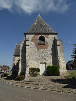Pleine-Selve, église Saint-Brice, bis