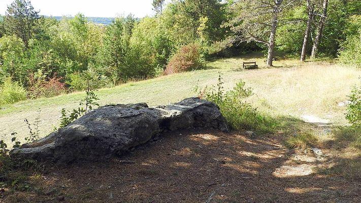 Les roches de l'Abondin